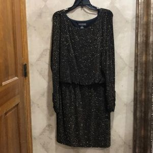 Jessica Howard Scrunched Dress.  Size 14